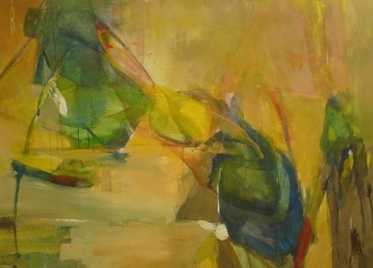 Akryl på lerret 110 x 145 cm