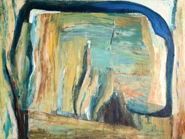 olje/lerret u.t. 120x160 cm